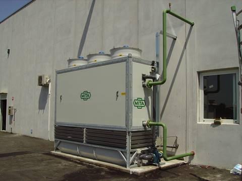 Evaporációs kondenzátor